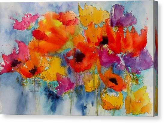 Marianne's Garden Canvas Print