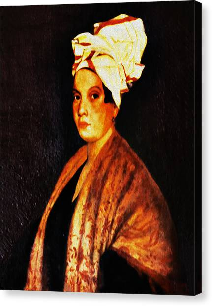 Marie Laveau - New Orleans Witch Canvas Print