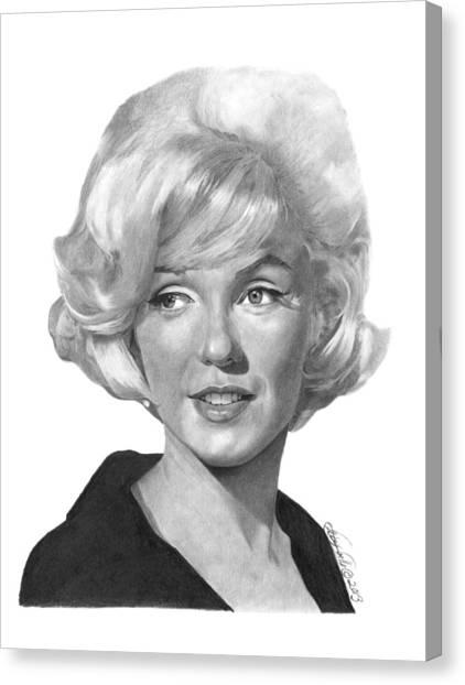 Marilyn Monroe - 015 Canvas Print