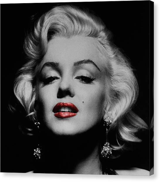 Actors Canvas Print - Marilyn Monroe 3 by Andrew Fare