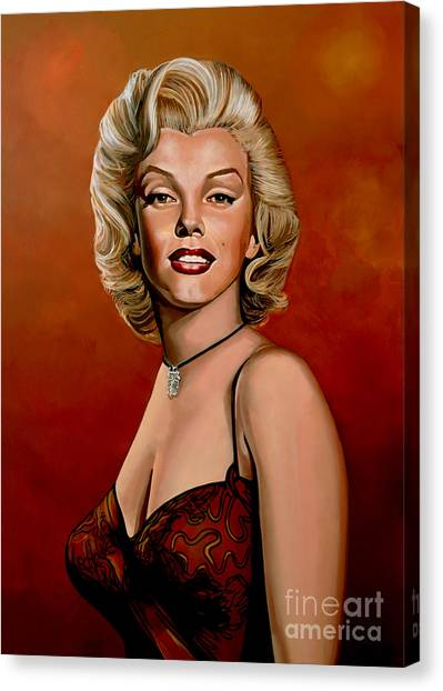 Vogue Canvas Print - Marilyn Monroe 6 by Paul Meijering