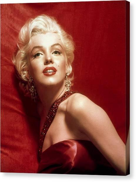 Citaten Marilyn Monroe Ga : Marilyn monroe red lips canvas prints fine art america