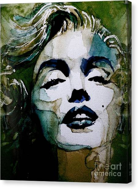 Marilyn Monroe Canvas Print - Marilyn No10 by Paul Lovering