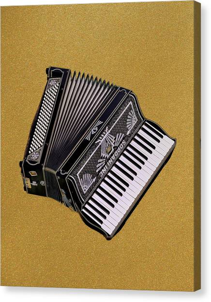 Marilyn's Accordion Canvas Print
