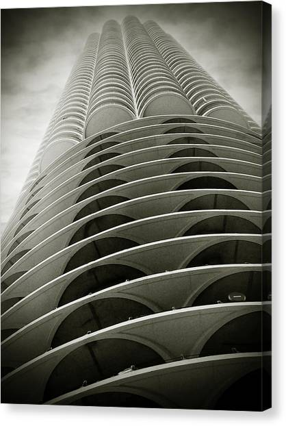Marina City Chicago Il Canvas Print