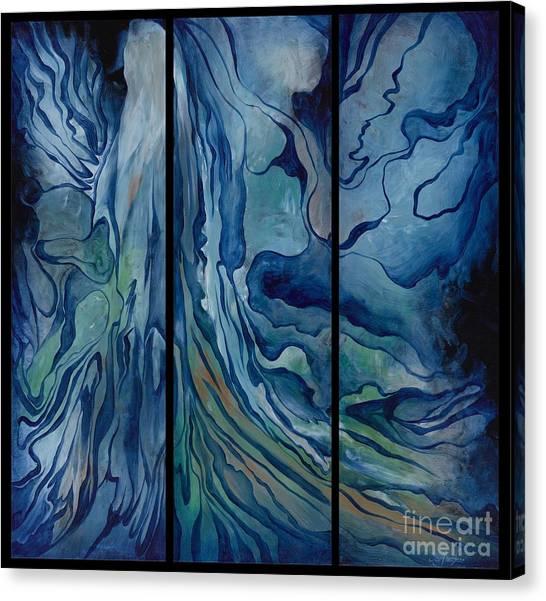 Marina Triptych Canvas Print