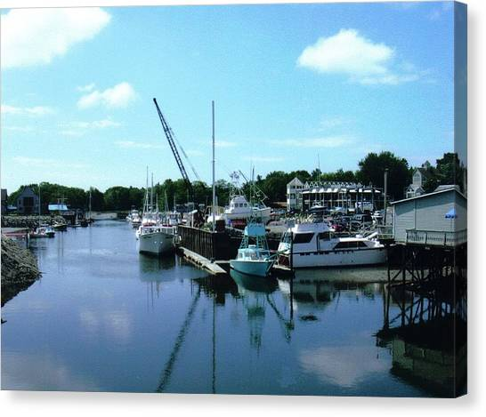 Mariner Harbor Canvas Print by Dusty Reed