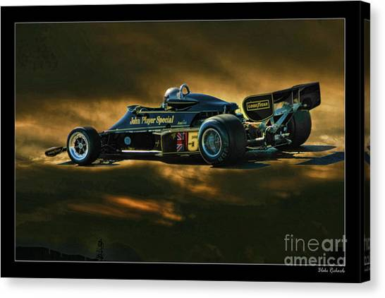 Mario Andretti John Player Special Lotus 79  Canvas Print