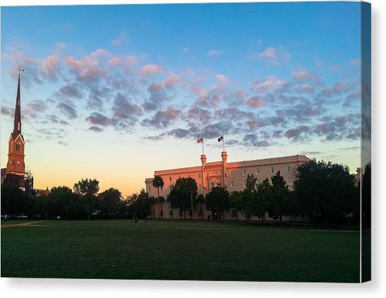 Marion Square Sunrise Canvas Print