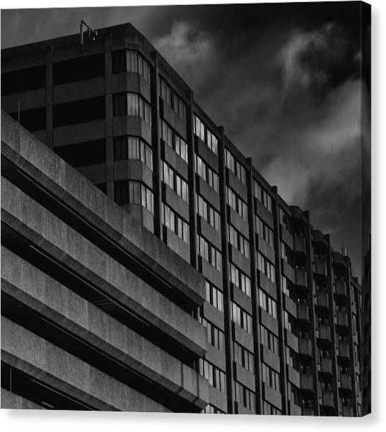 Mariott Canvas Print by Andrew Menzies