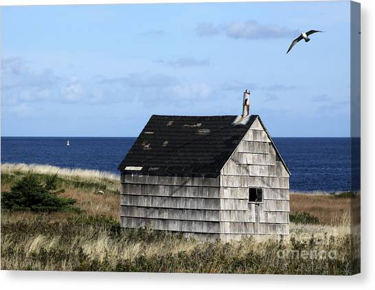Maritime Cottage Canvas Print
