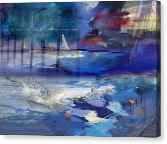 Maritime Fantasy Canvas Print
