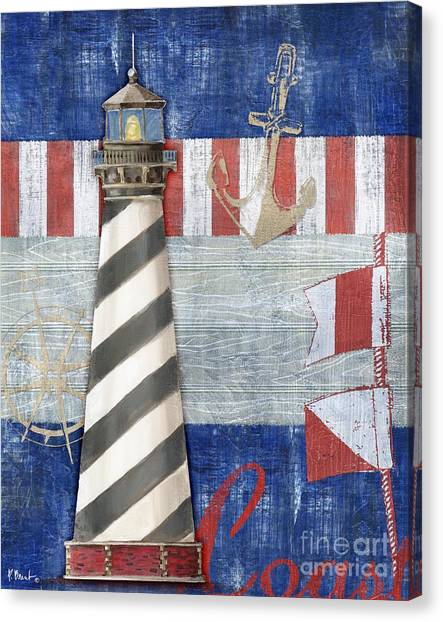 Cape Hatteras Lighthouse Canvas Print - Maritime Lighthouse II by Paul Brent