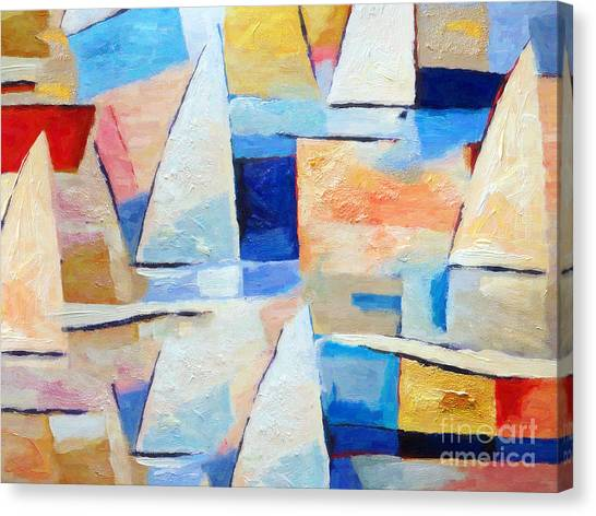 Maritime Regatta Canvas Print