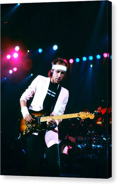 Mark Knopfler I Canvas Print