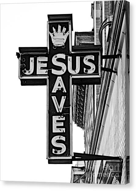 Market Street Mission Canvas Print