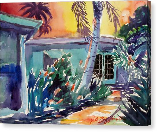 Marla's Beach House Canvas Print