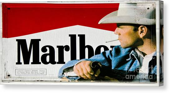 Marlboro Man Canvas Print