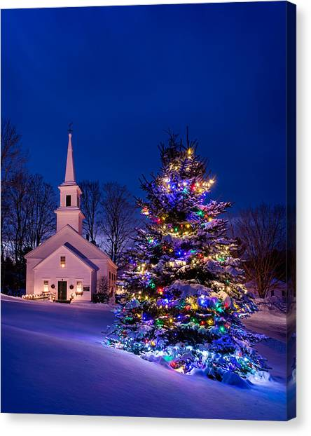 Marlow Canvas Print - Marlow Christmas by Michael Blanchette