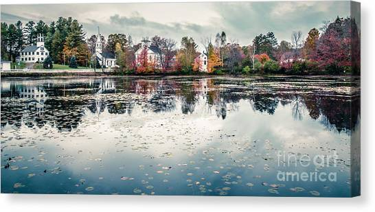 Marlow Canvas Print - Marlow New Hampshire  by Edward Fielding
