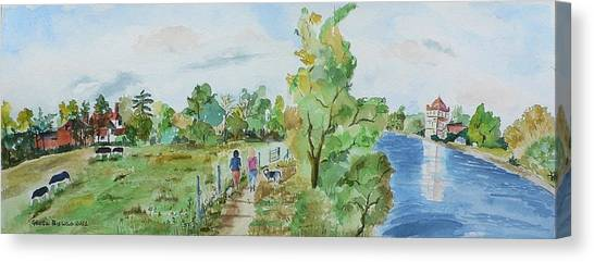 Marlow On Thames 3 Canvas Print