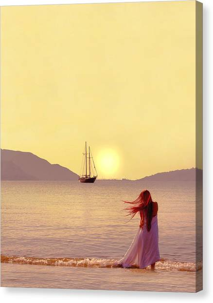 Turkeys Canvas Print - Marmaris - Turkey by Cambion Art