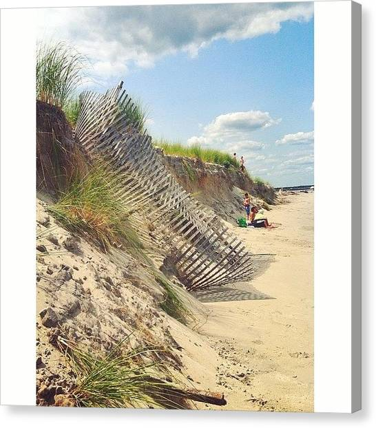 Seagrass Canvas Print - Marooned by Josh Kinney