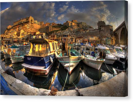 Marseille Canvas Print by Karim SAARI