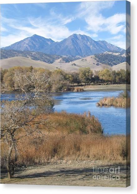Marshes Canvas Print - Marsh Creek October by Stu Shepherd