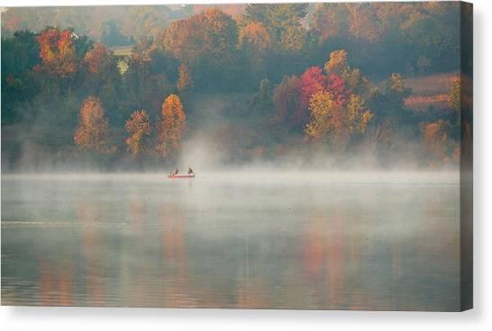 Marshes Canvas Print - Marsh Creek Pa by David Zhu