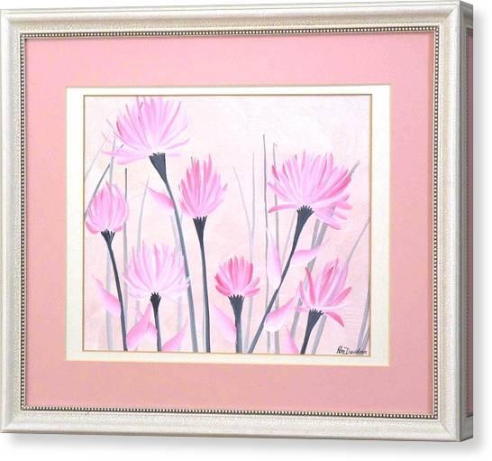 Marsh Flowers Canvas Print