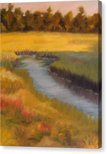 Marsh Mellow Canvas Print