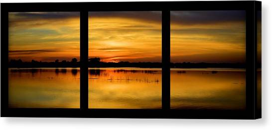 Marsh Rise Tiles 1-3 Canvas Print