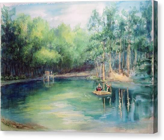 Marshallville Swimming Hole Canvas Print