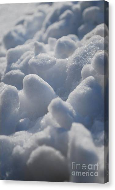 Marshmallow Mounds Canvas Print by Susan Hernandez