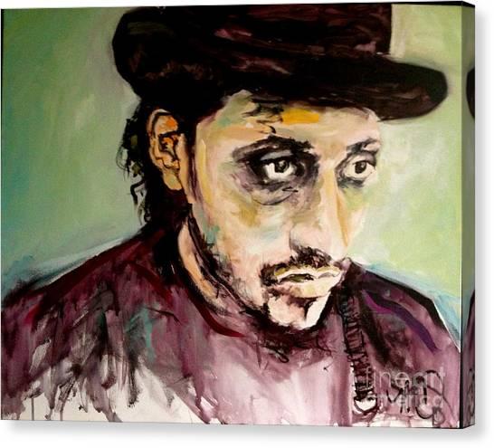 Martin Grech Canvas Print by Michelle Dommer