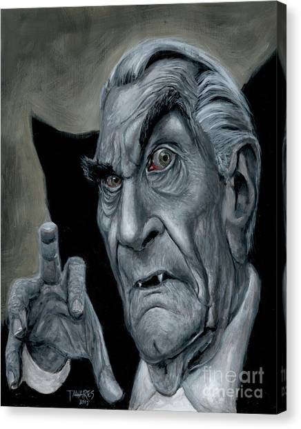 Martin Landau As Bela Canvas Print