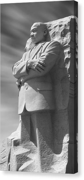 Martin Canvas Print - Martin Luther King Jr. Memorial - Washington D.c. by Mike McGlothlen