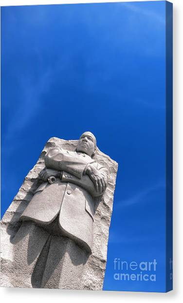 Martin Luther King Canvas Print - Martin Luther King by Olivier Le Queinec