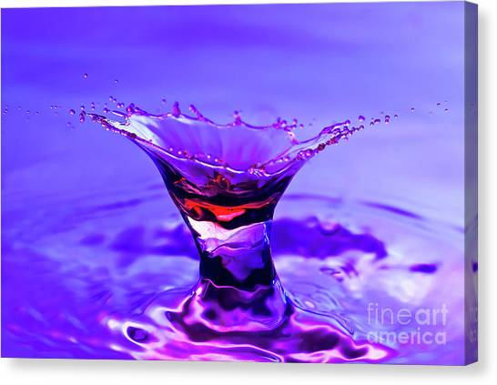 Martini Splash Canvas Print
