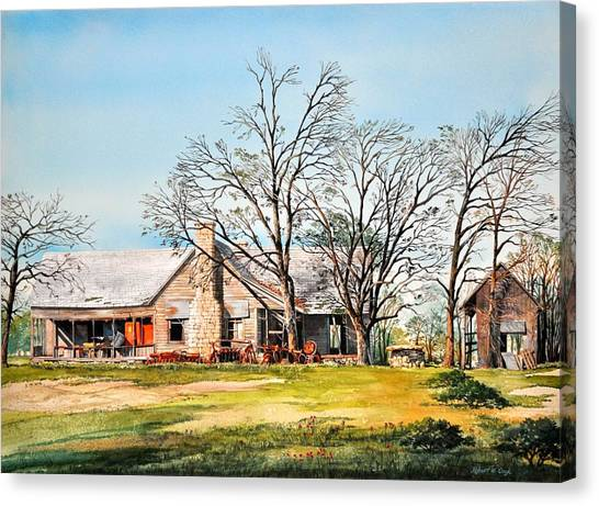 Martin's Homestead Canvas Print