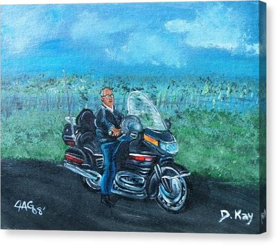 Marvins Ride Canvas Print