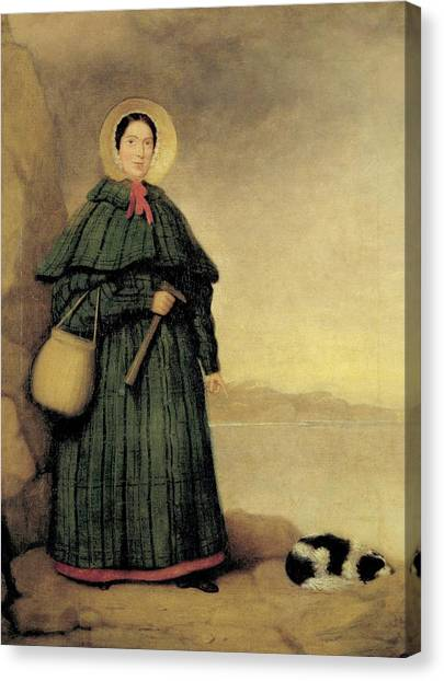 Pterodactyls Canvas Print - Mary Anning by Natural History Museum, London/science Photo Library