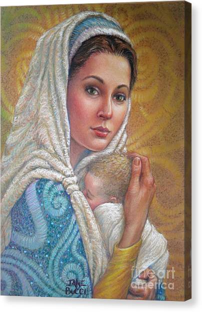 Mary Did You Know    Canvas Print