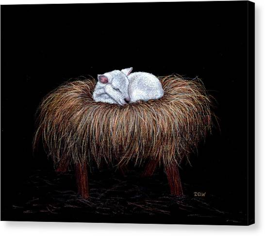 Mary Had A Little Lamb Canvas Print