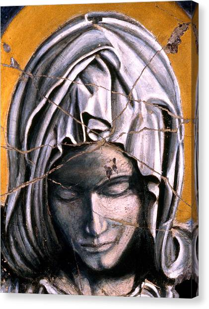 Bogdanoff Canvas Print - Mary Super Petram - Study No. 1 by Steve Bogdanoff