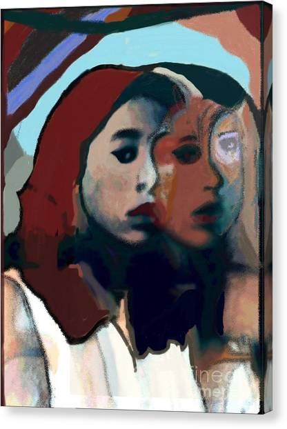Marygirl Canvas Print