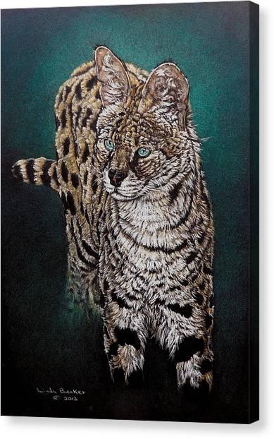 Masaai Canvas Print