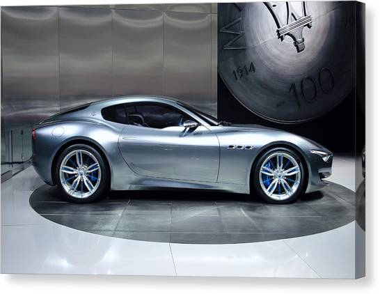Maserati Alfieri Canvas Print