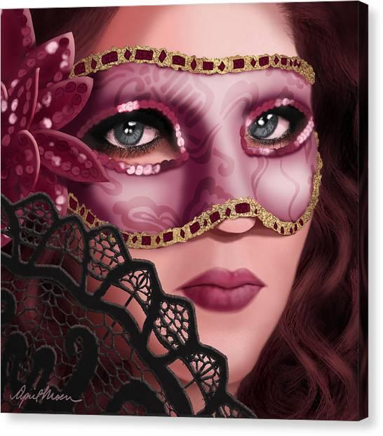 Masked II Canvas Print